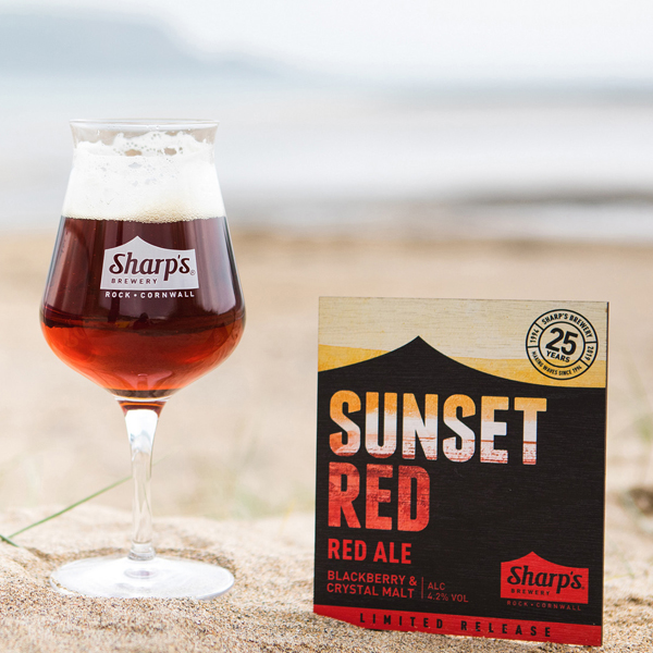 Sharp's Sunset red